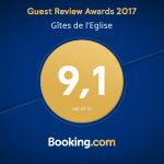 note 2017 gîtes ruraux - booking.com